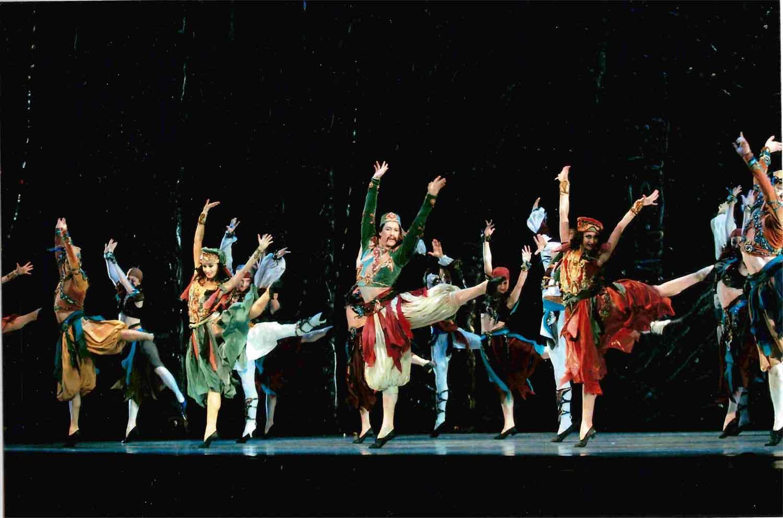 Corsaire's dance